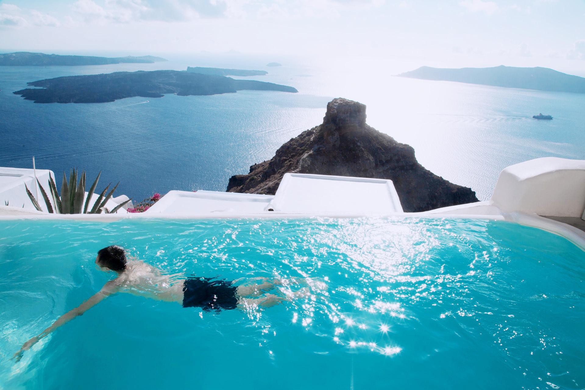 Paesaggi D Acqua Piscine meglio l'acqua di mare o della piscina per il nuoto